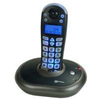 Geemarc - Clearsound Dect 200 Téléphone sans fil dect amplifié Grosses touches Anthracite