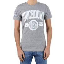 Beandbe Touchdown - T-shirt be and Be Touchdown 1955 Gris / Blanc