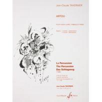 Billaudot Gerard Editions - Artou - Jc Tavernier - Caisse Claire, Cymbale et piano