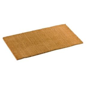 tapis brosse coco 50x100 cm beige nc pas cher achat vente tapis rueducommerce. Black Bedroom Furniture Sets. Home Design Ideas