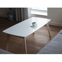 Beliani - Table basse - Table salon - blanc - Santos