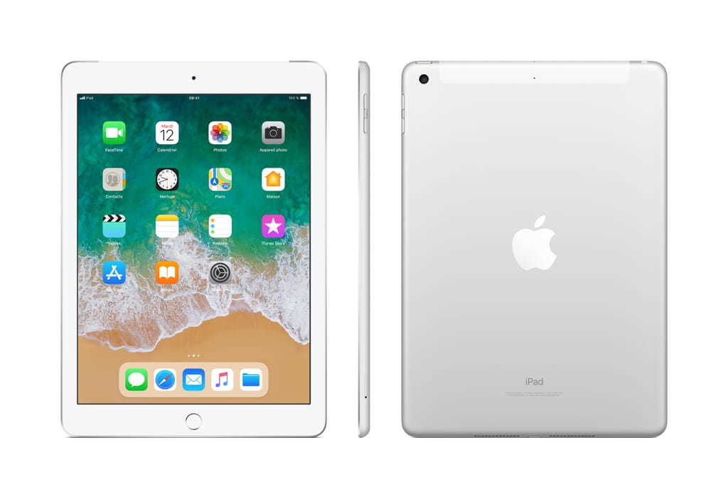 "Ipad 2018 - 9,7"" - 128 Go - Wifi + Cellular - MR732NF/A - Argent"