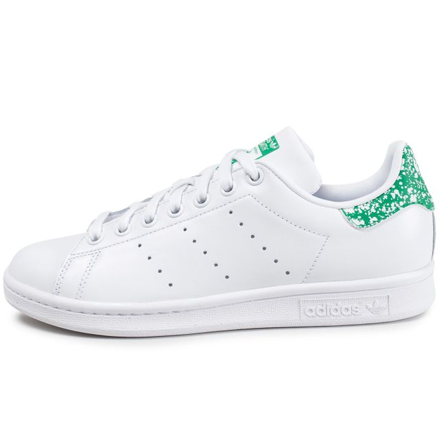 Adidas originals - Stan Smith Blanche Et Verte - pas cher ...