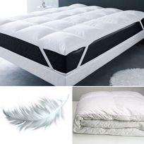 sur matelas anti acariens achat sur matelas anti acariens pas cher rue du commerce. Black Bedroom Furniture Sets. Home Design Ideas