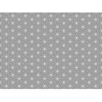 Graham And Brown - Papier peint 100% intissé motif rosace étoilée gris/argent 10.05x0.52m Origami