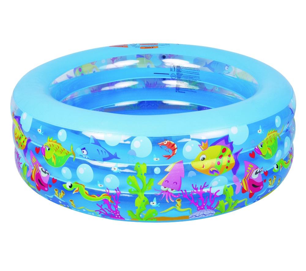 Carrefour piscine gonflable aquarium garden dia 1 52m - Piscina bebe carrefour ...