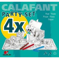 Calafant - Pirate Set Pour 4 Enfants