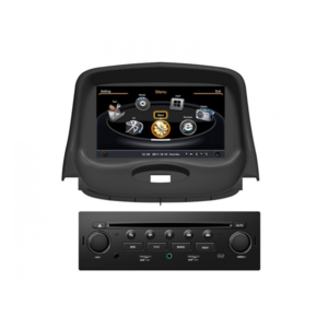 peugeot autoradio gps bluetooth pour 206 206 cc 206 sw achat vente autoradio 2 pas cher. Black Bedroom Furniture Sets. Home Design Ideas