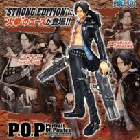 Megahouse - One Piece - P.O.P Excellent Model Strong Edition Portgas D. Ace