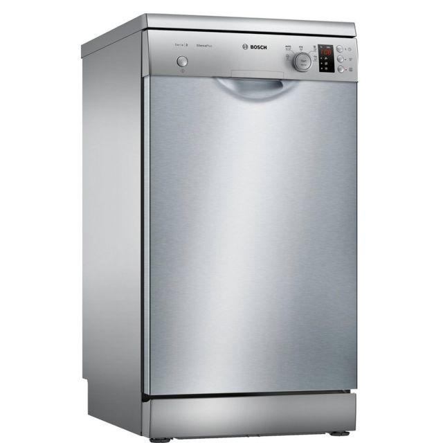 Bosch lave-vaisselle 45cm 9c 46db a+ inox - sps25ci04e