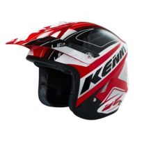 Kenny - Casque Trial Up Graphic 2016 Rouge / Noir