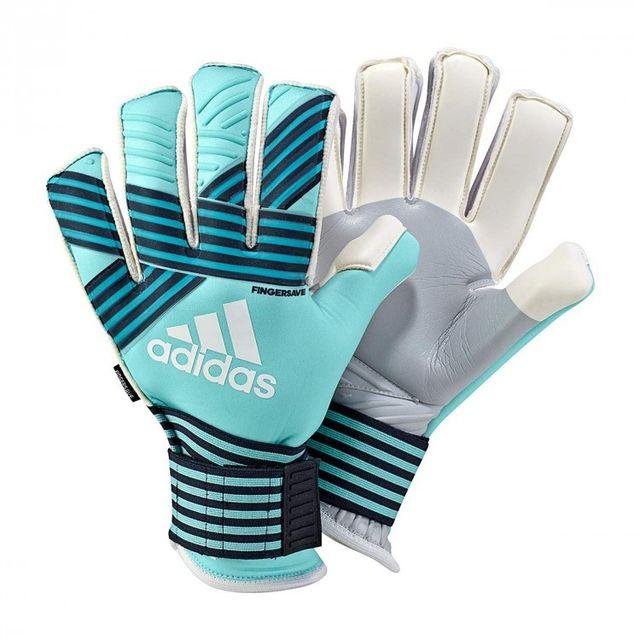 Adidas - Gant de gardien de but Ace Trans Fingersave Pr Cyan Taille 7