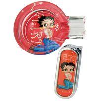 Betty Boop - Coffret cendrier et briquet Flirt