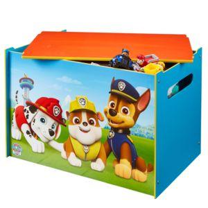 Worlds apart coffre jouets pat 39 patrouille multicolor 10cm x 10cm x 40cm pas cher achat - Coffre de rangement pat patrouille ...