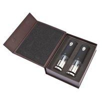 ensemble moulins électriques sel et poivre 20cm noir/inox - 2/28459