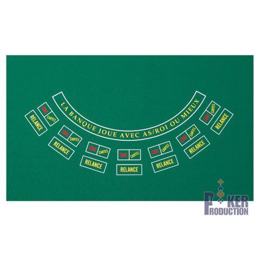 Poker Production - Tapis Stud Poker à agrafer