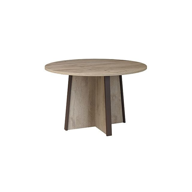 Table ronde 120cm naturel - Rafael