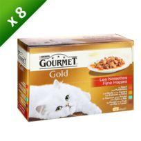 Gourmet - Gold Noisettes 12x85g x8