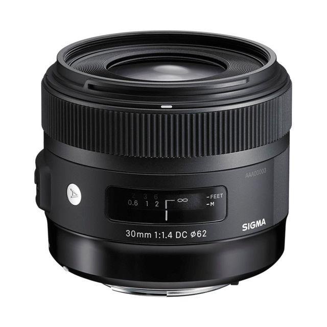 Sigma Objectif 30 mm f/1.4 Dc Hsm Art Pentax Garanti 3 ans