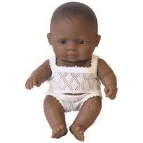 Miniland - poupee fille 21cm, latino americain