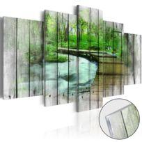 Bimago - Tableau sur verre acrylique - Forest of Secrets Glass