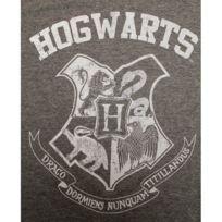 Cotton Division - Tshirt homme Harry Potter - Hogwarts School Distress Logo