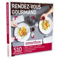 Smartbox - Rendez-vous gourmand - À choisir parmi 510 restaurants avec une sélection issue de guides et labels gastronomiques - Coffret Cadeau