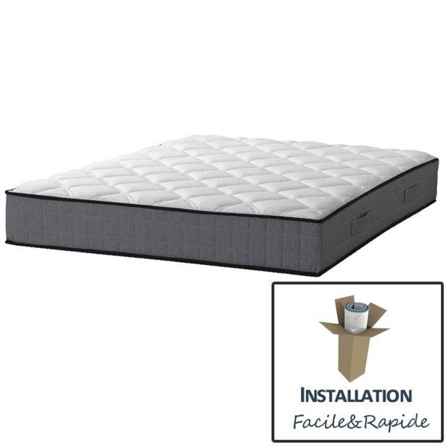 essenzia matelas zen morphologic 140x190 ressorts achat vente matelas pas chers rueducommerce. Black Bedroom Furniture Sets. Home Design Ideas