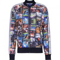 Adidas originals - Veste Bts Aop Superstar Noir Homme Adidas