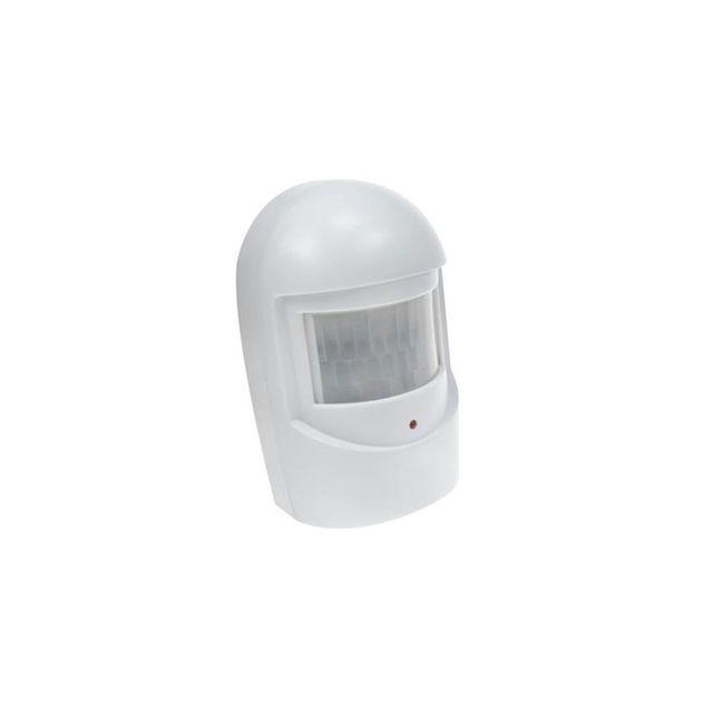 Perel Détecteur de mouvement supplémentaire pour ham1000ws pour: Ham1000WS détecte un mouvement dans une pièce activation de l'alarme via un signal radio distance / angle de détection: 8m / 110° faible consommation portée de transmission: jusqu'à 50m indi