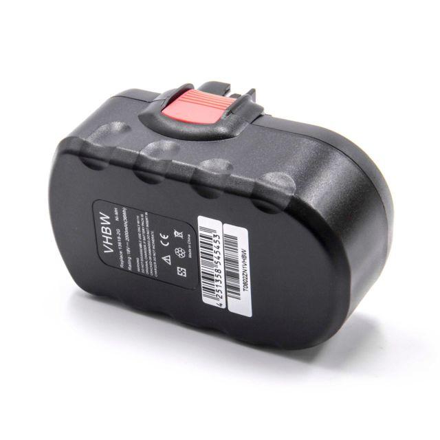 GSR 7.2V GSR 24VE-2 GSR 7.2-1 GSR 14.4V GSR 18 V GSR 14.4V-2B GSR 18 VE-2 vhbw 220V Chargeur pour Outils Bosch GSR 14.4