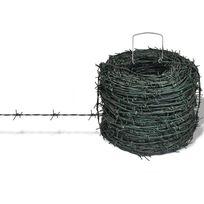 Vimeu-Outillage - Fil de fer barbelé 100 m