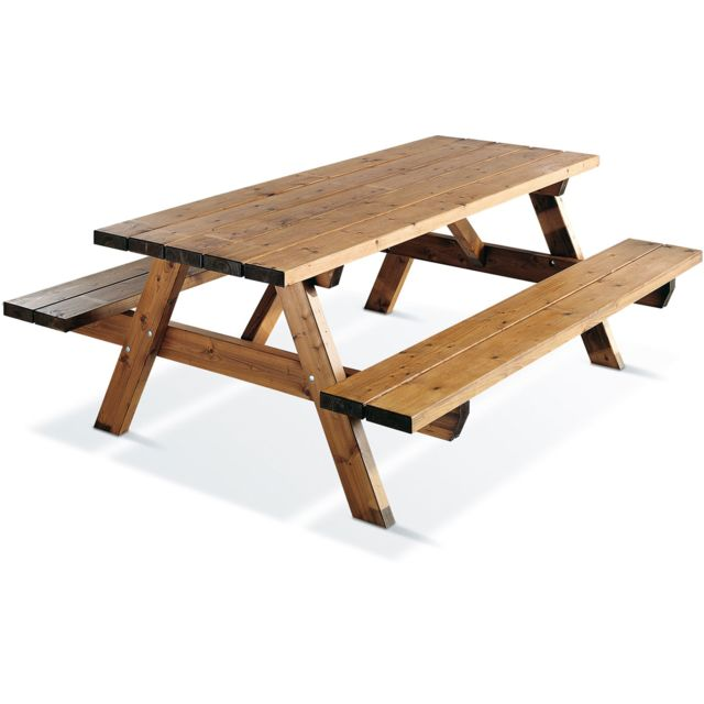 JARDIPOLYS - Table de pique nique Garden 1