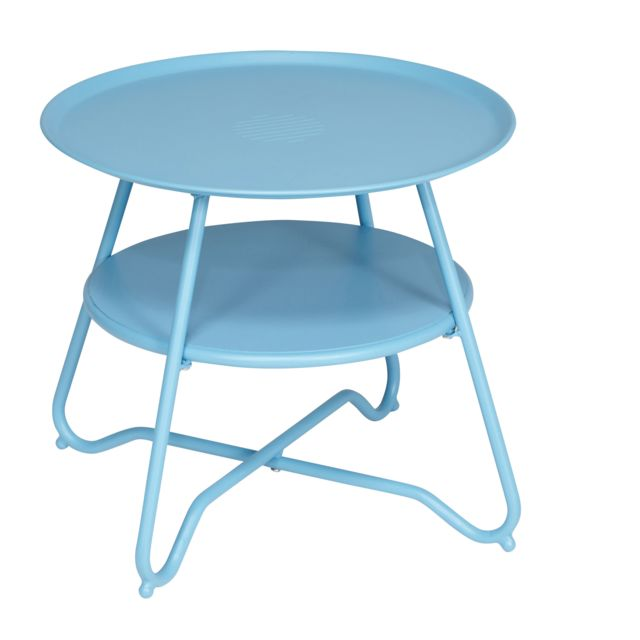 hyba table basse de jardin alu 151 taupe ltff7823 pas cher achat vente tables de. Black Bedroom Furniture Sets. Home Design Ideas
