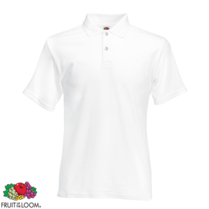Polos Fruit of the Loom blancs homme m6AXjTbLBU