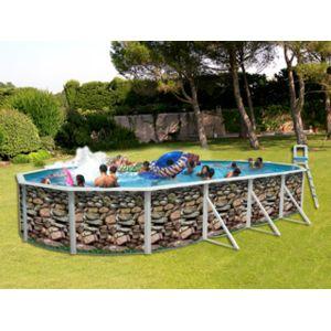 Toi vigipiscine kit piscine hors sol acier muro ovale for Piscine hors sol 7 30 x 3 70