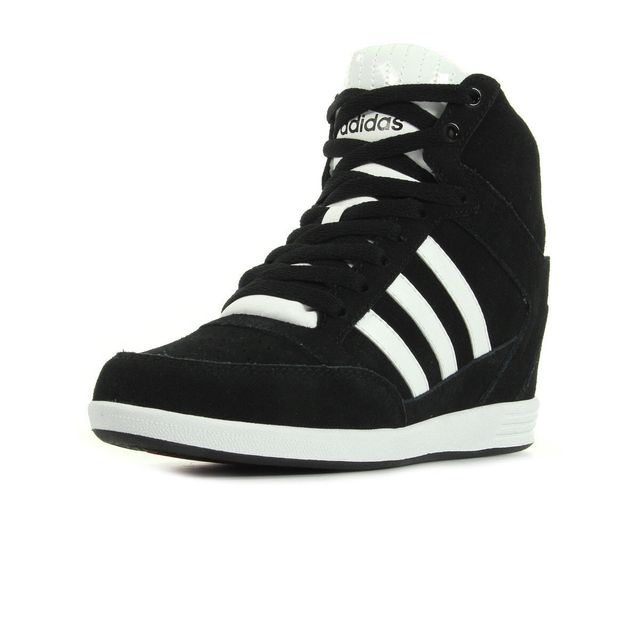 adidas neo baskets super wedge chaussures femme,adidas neo