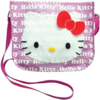 Zappies - Sac BandouliÈRE, Hello-kitty, Rose - Motif De Rose, 4082