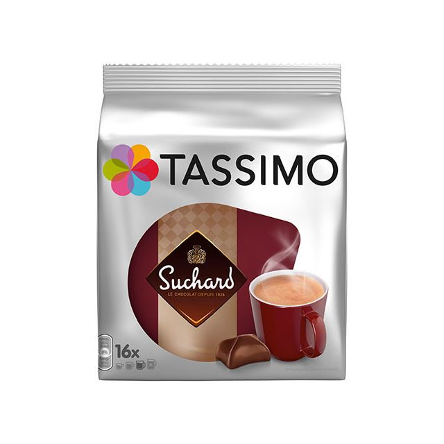 Café Carte Noire Suchard dosette machine Tassimo - paquet de 16