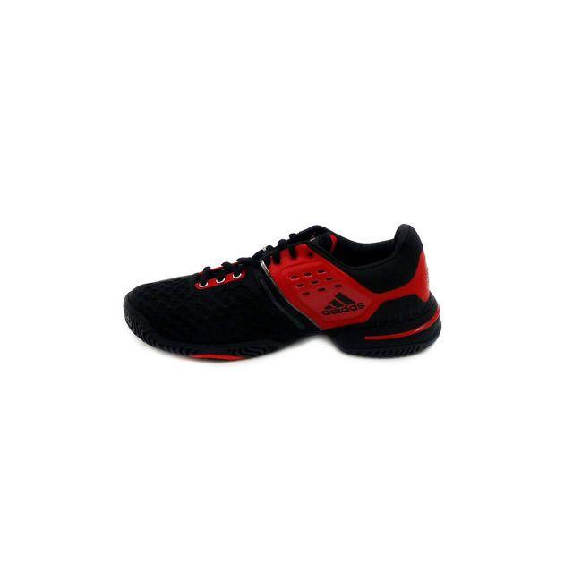 Adidas Barricade 6.0 Noir Rouge pas cher Achat Vente