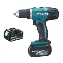 Makita - Perceuse visseuse 18V Li-Ion 3.0Ah Ø13mm DDF453SFE