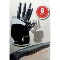 Royalty Line - Bloc Couteaux 8 Pcs Carbon Design - Rl-cb8