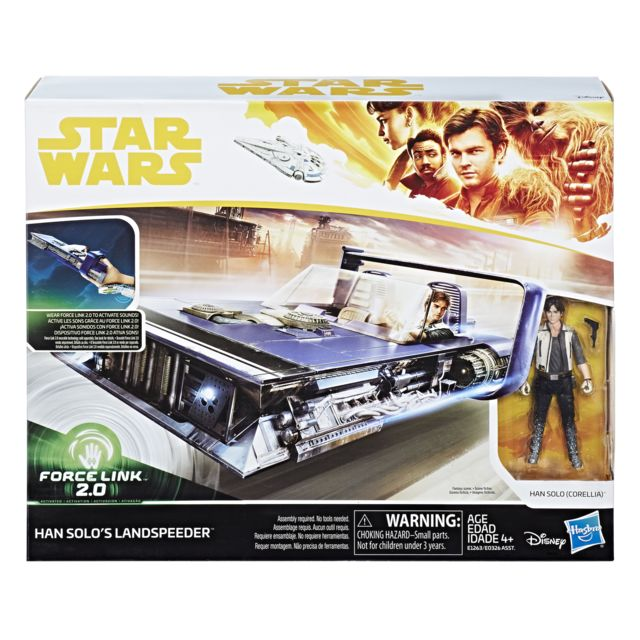 STAR WARS Han Solo et son Landspeeder - E1263ES00