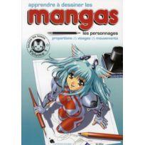 Marabout - Apprendre à dessiner les mangas