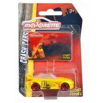 Majorette - Voiture Stunt Heros Crash Cars