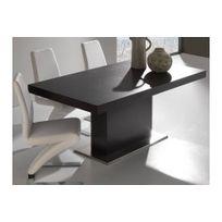 La Seggiola - Table repas extensible Domus design wengé