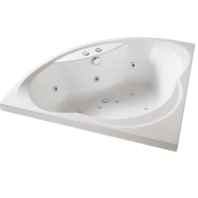 habitat et jardin baignoire baln o silence tahiti iii 140x140cm pas cher achat vente. Black Bedroom Furniture Sets. Home Design Ideas