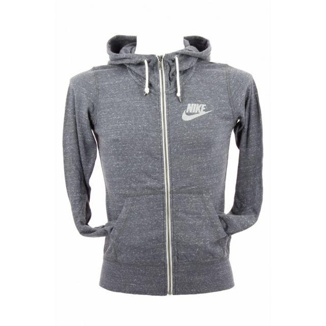 Nike Zip Full Hoodie Gym 021 Vintage Gris Pas 545665 Sweat rxH76r