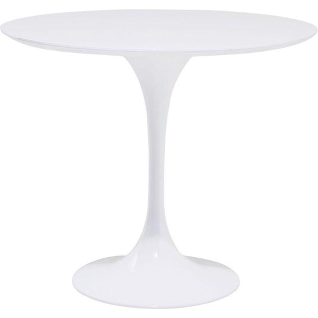 Karedesign Table Invitation blanche 90cm Kare Design