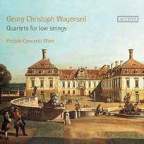 Accent - Georg Christoph Wagenseil - Quatuors pour cordes basses Boitier cristal